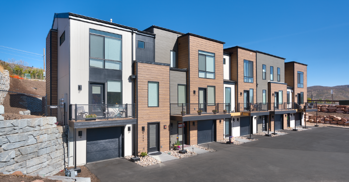 Discovery Townhomes in Summit Park, Utah